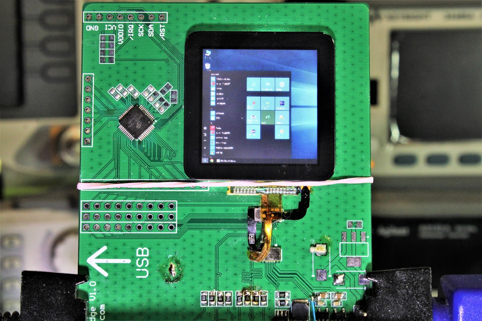 Embedded Engineering : Open Source USB Display: SPI MIPI ...