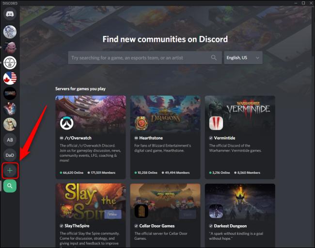 قائمة الانضمام إلى Discord Invite