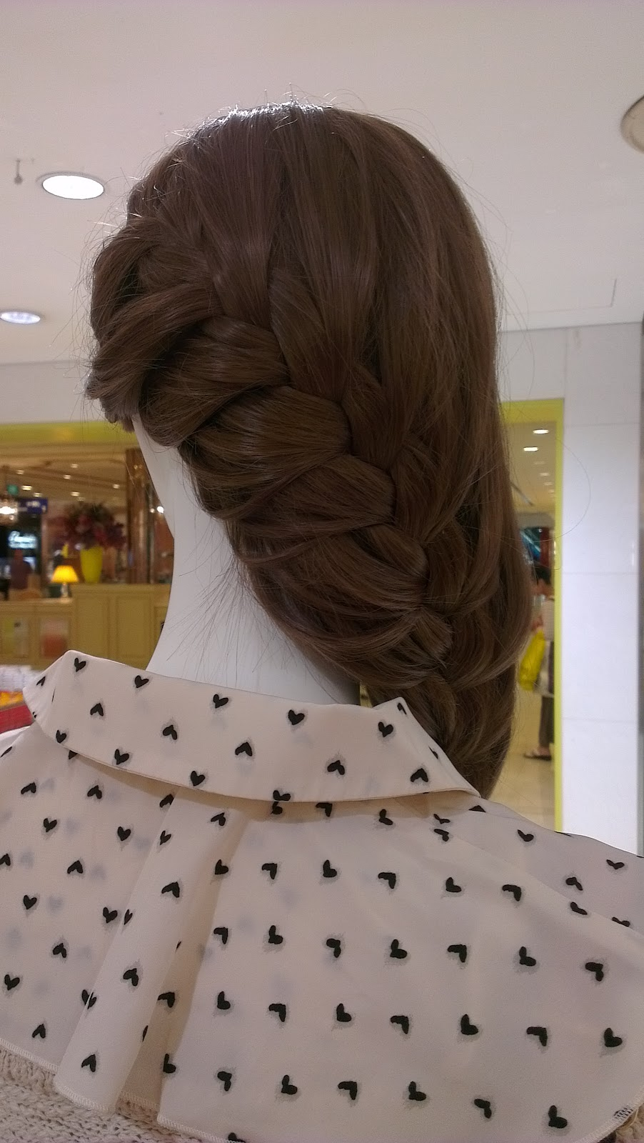 Dip Drops Singapore French Braid Hairstyle Ideas