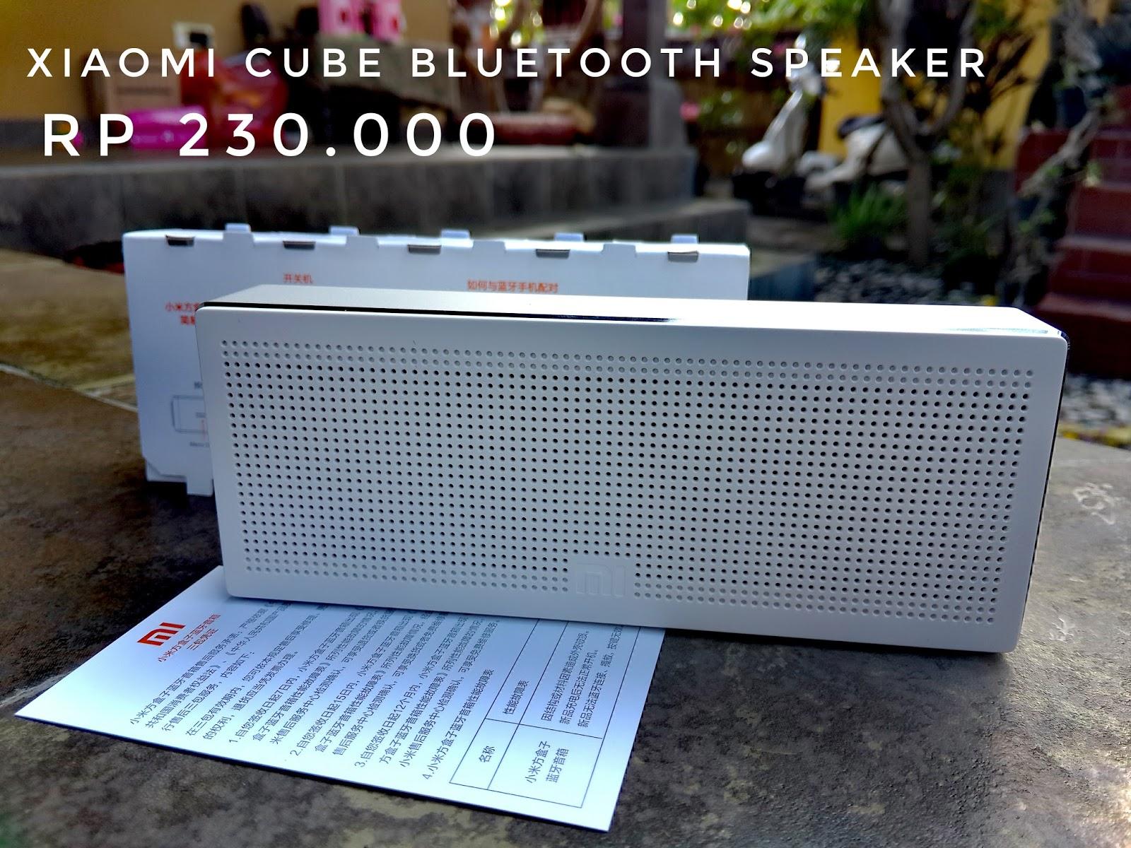Abitech Bali Speaker Bluetooth Portable Xiaomi Cube Warna Putih Original Harga 230rb Stock Kosong Kualitas Bagus Diharga Yang Murah Bass Mantap Berani Diadu Dengan Lebih Mahal