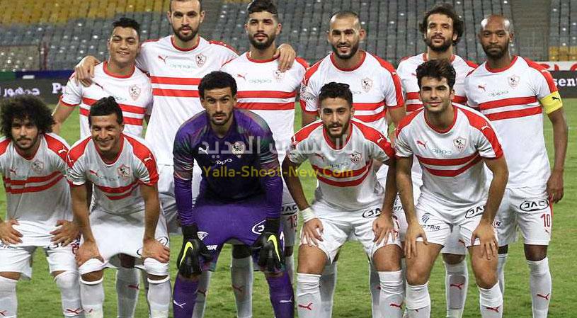 اف سي مصر يفرض التعادل على الزمالك قبل القمة في الدوري المصري بهدف لمثله
