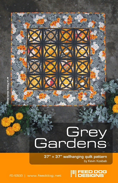 Grey Gardens quilt pattern cover