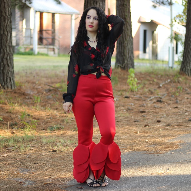 LovelyWholesale Red Pants