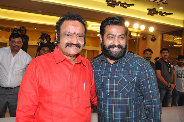 harikrishna, ntr at ism telugu movie audio launch photos