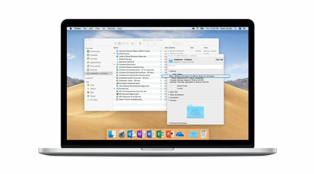 تقوم مايكروسوفت بإيقاف تطبيق عميل المزامنة من OneDrive على الإصدارات الأقدم من macOS