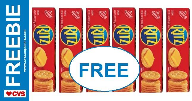 FREE Nabisco Crackers CVS Deal - 7/14-7/20