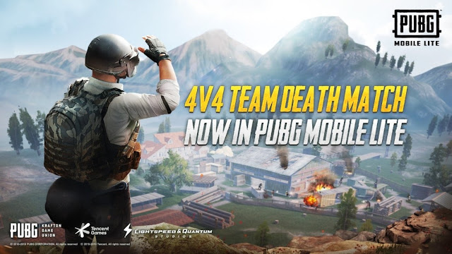 4v4 TEAM DEATHMATCH MODE DROPS INTO PUBG MOBILE LITE FOR RAPID-FIRE CHICKEN DINNERS