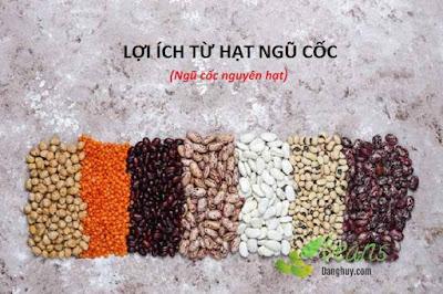 Lợi ích từ hạt ngũ cốc