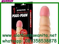 Alat Bantu Pria Kondom Sambung Maxman 25Mm