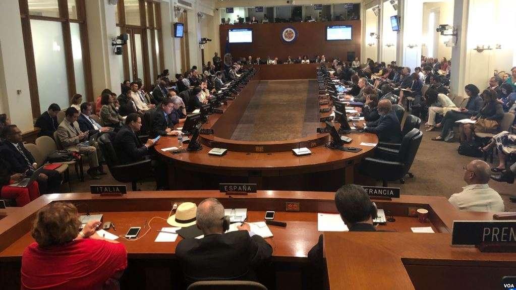 OEA condenó con 21 votos al régimen represor de Ortega / VOA