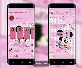 Minnie Cute Theme For YOWhatsApp & Fouad WhatsApp By Ale