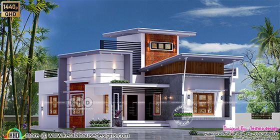 modern contemporary home 1310 sq-ft