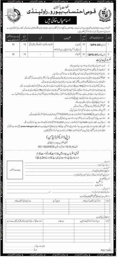 Advertisement for NAB Jobs 2019