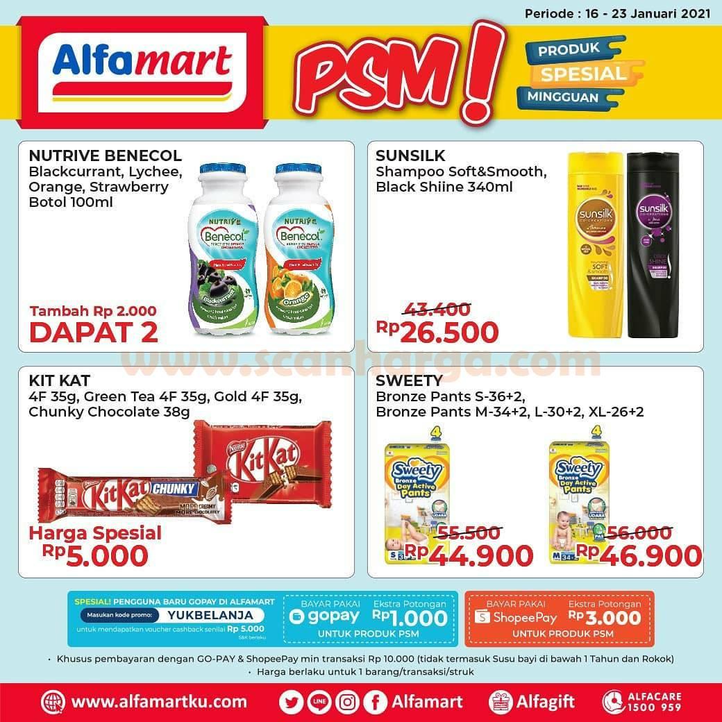 Promo PSM Alfamart Spesial Mingguan 16 - 23 Januari 2021
