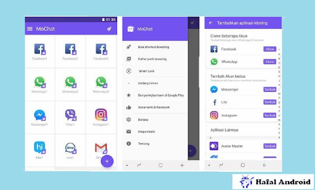 Cara Menggunakan Mo Chat Untuk Menggandakan WhatsApp