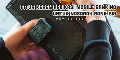 Aplikasi mobile banking BRI