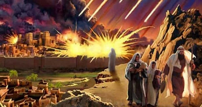 Tα Σόδομα και Γόμορρα ΔΕΝ τα Κατέστρεψε ο Θεός
