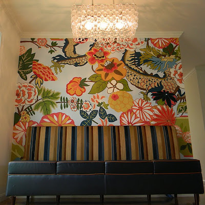 Hand Painted Wall Mural