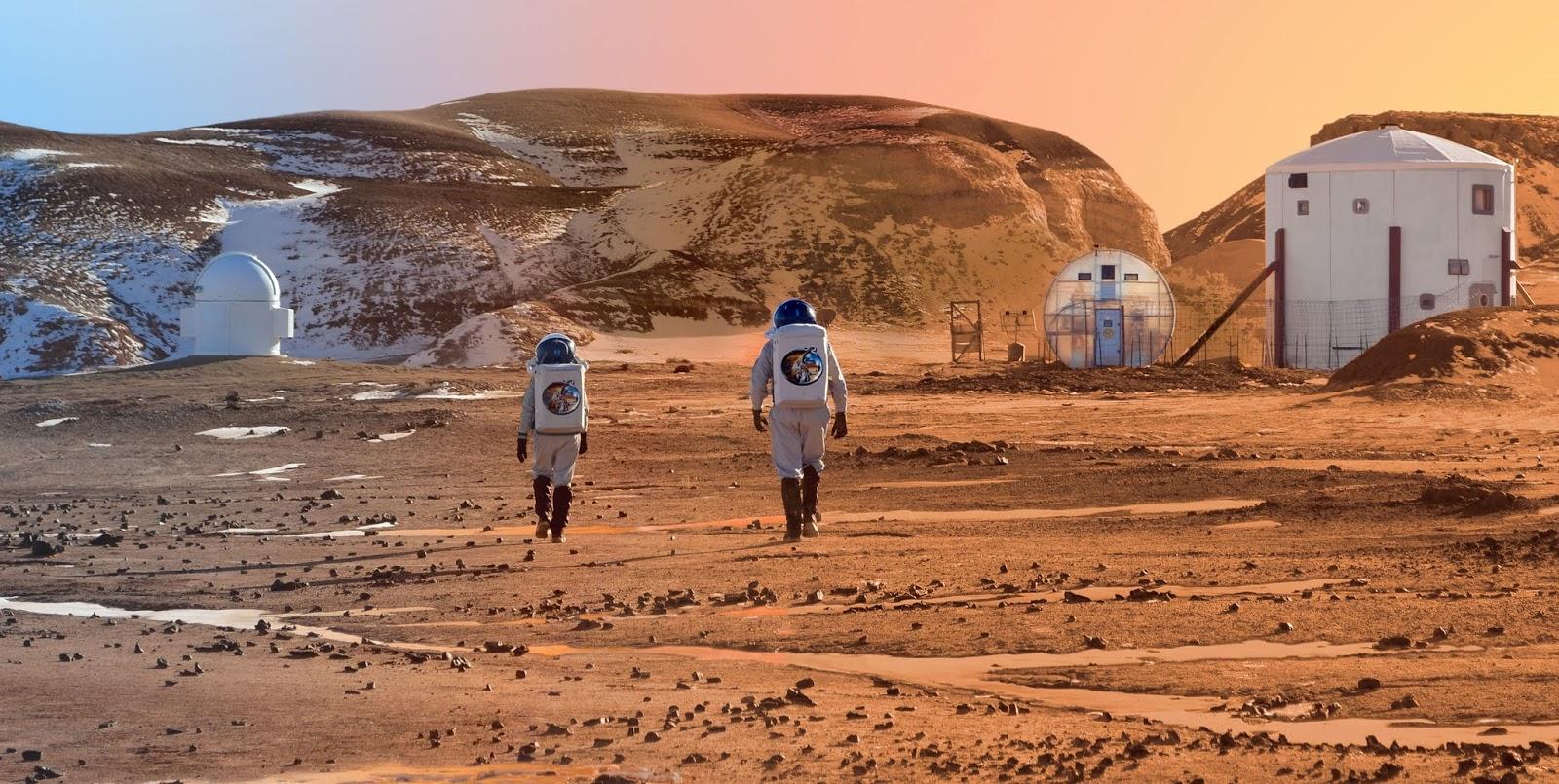 Inilah 7 Kemiripan Antara Bumi dan Planet Mars