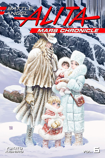 Battle Angel Alita: Mars Chronicle vol. 6