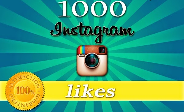 1000 Instagram Photo Likes