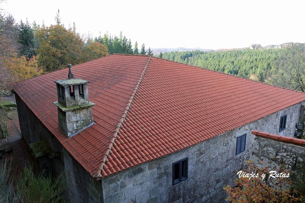 Casa rectoral de San Pedro de Rocas