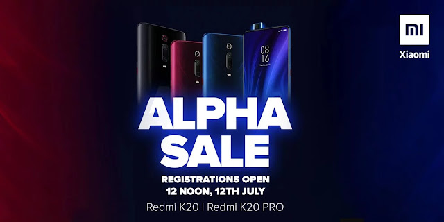 redmi-k20-series-alpha-sale,Xiaomi,Redmi K20,Redmi K20 India launch, Redmi K20 Pro,Redmi K20 Alpha Sale,Redmi K20 Alpha Sale details,