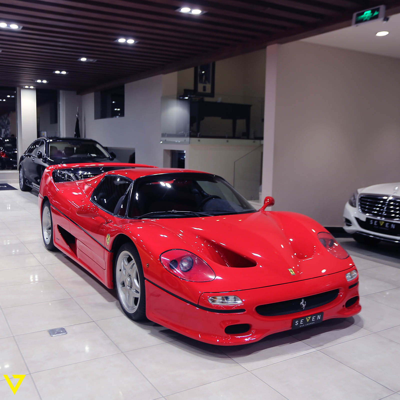 Saudi Dealership Has All Four Of Ferrari's Flagship