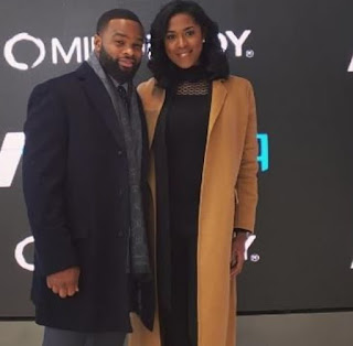 Averi Woodley with her ex-hubby Tyron