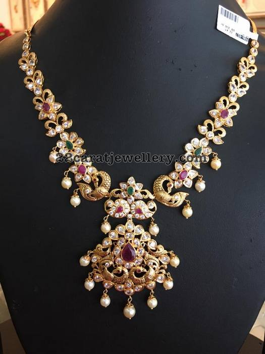 Kundan and Pachi Necklace Sets