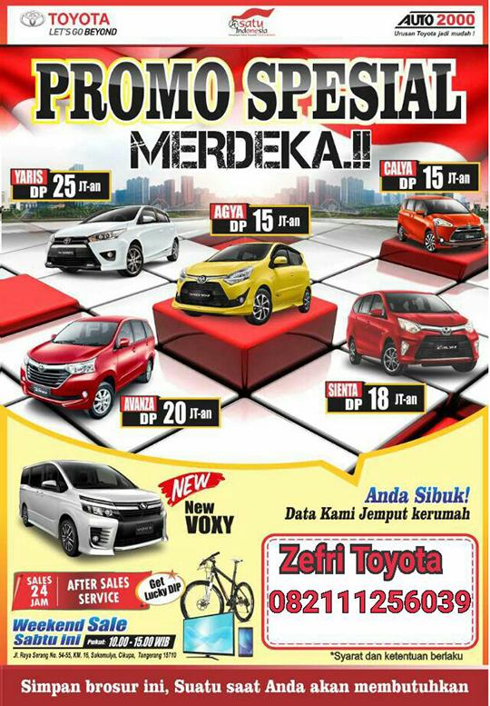 Dealer Toyota Cikupa Tangerang 2017