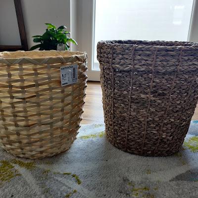 IKEA wove pots