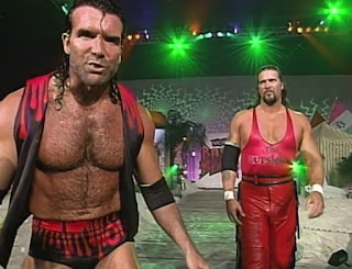 WCW REVIEW - BASH AT THE BEACH 1996 - Scott Hall - Kevin Nash - The Outsiders