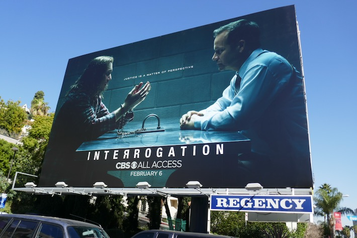Interrogation series premiere billboard
