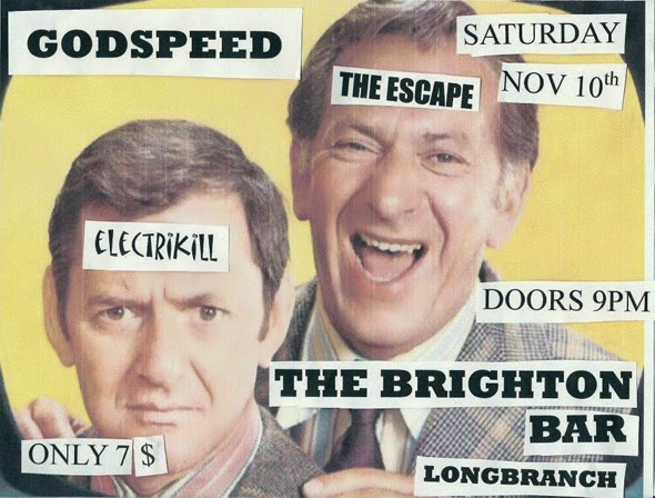 Godspeed ad for The Brighton Bar