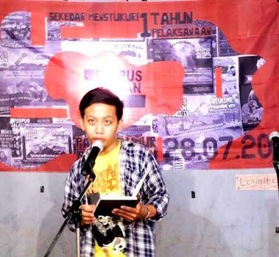 Cahyo Taman Baca Tanjung Tanjung Barat Jakarta Selatan