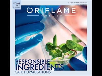 oriflame catalogue august 2021 pdf