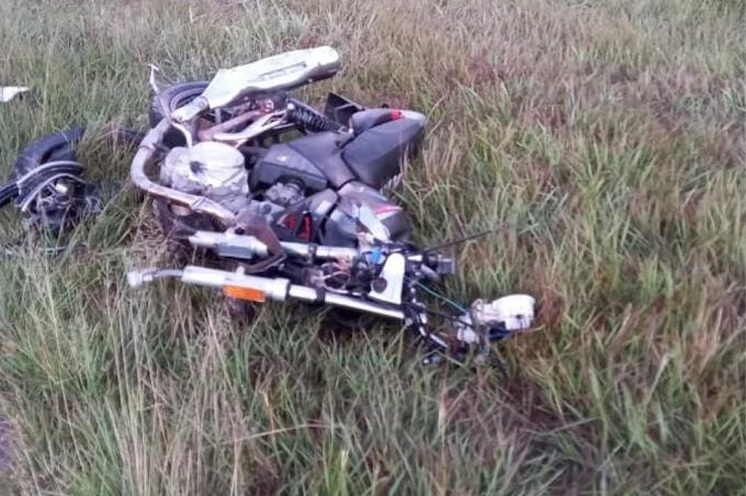 Fatal accidente en la RP 11: murió un motociclista