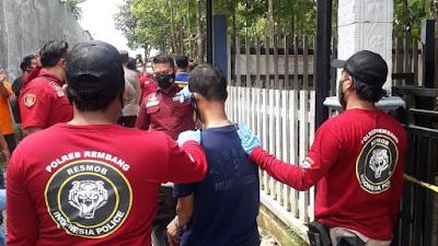 Rekonstruksi Pembunuhan 4 Orang Sekeluarga di Rembang,  Aksi Sadis Satu Pelaku Menggeramkan