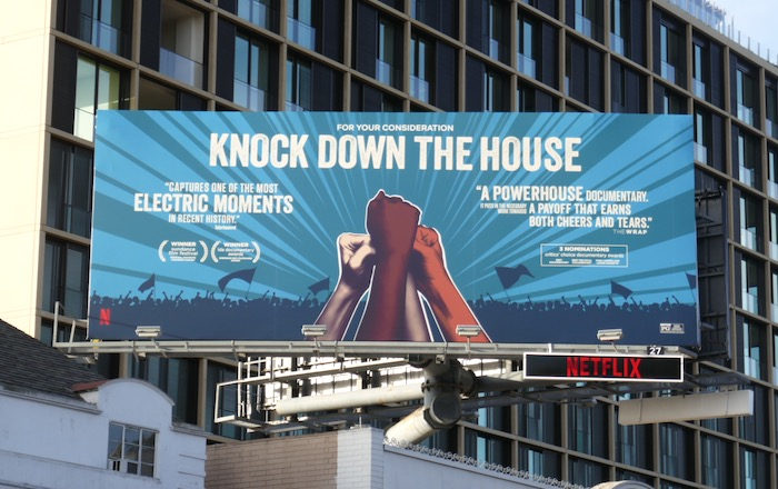 Knock Down The House documentary FYC billboard