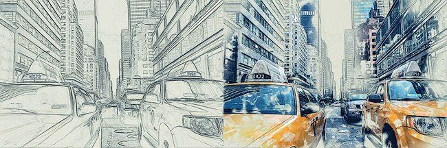 Превращаем фото в рисунок карандашом в Фотошопе
