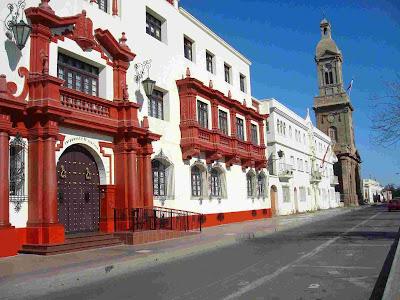 Colonial architecture, La Serena, Chile.