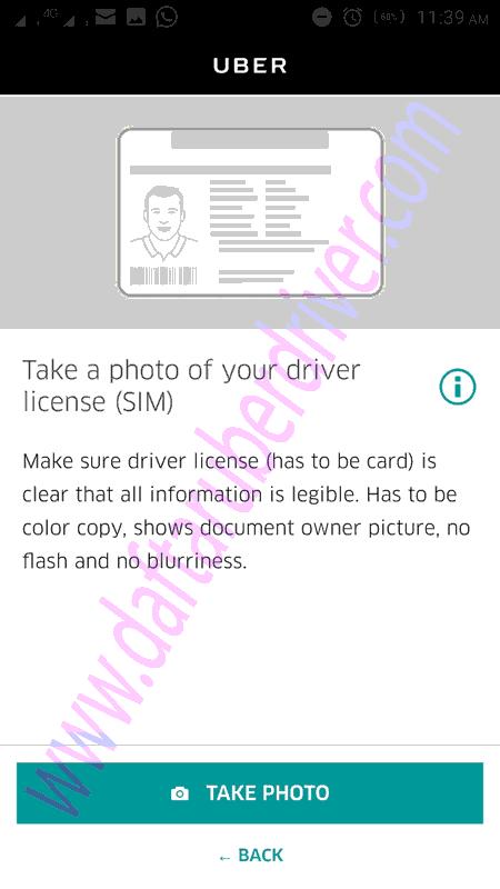 Upload SIM - DaftarUberDriver.com