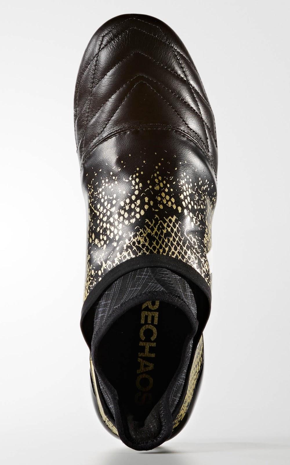 2018 sneaker sale a0fe0 4f35a The Black White Gold Adidas X PureChaos 16.1  ... 7576082de4d59