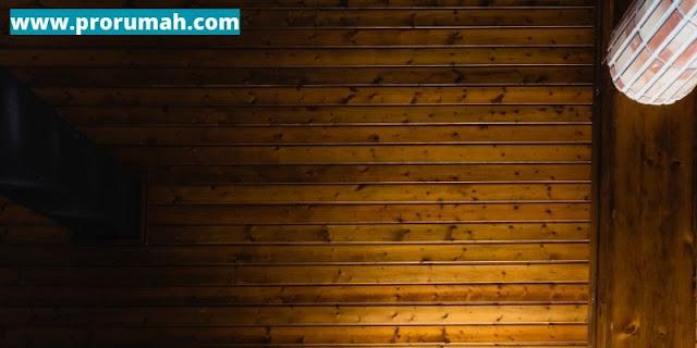 plafon kayu sebagai pengatur suhu