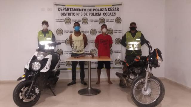 Venezolanos roban moto en La jagua de Ibirico
