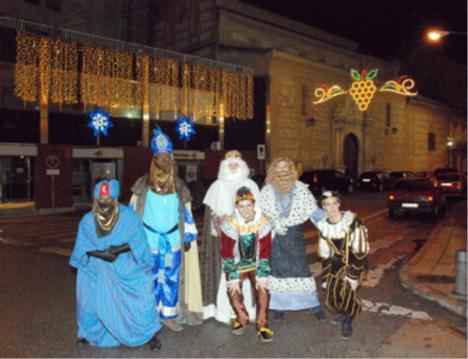 Los Reyes Magos en Guadalajara