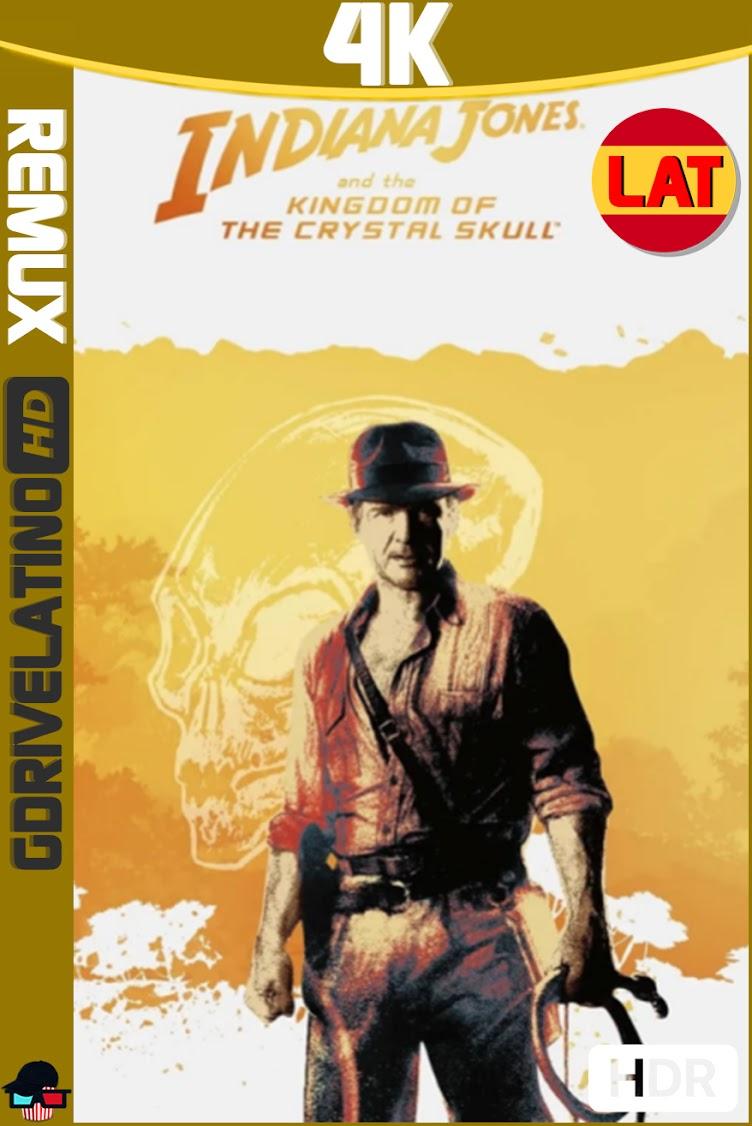 Indiana Jones y el Reino de la Calavera de Cristal (2008) BDRemux 4K HDR Latino-Ingles MKV
