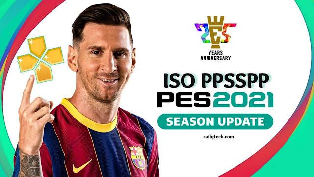 تحميل  PES 2021 ISO PPSSPP لنظام أندرويد