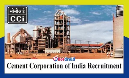 Cement Corporation of India Recruitment 2021, Apply Online for CCI Job Vacancies